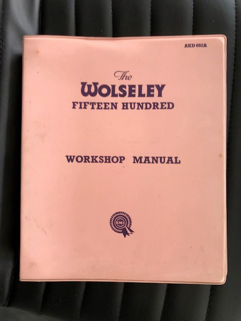 1957-1965 WOLSELEY 1500 Workshop Manual